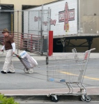 Who needs your carts anyway? This old-timer knows how to roll.