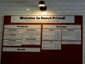 More than just donuts.