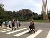 Last Continental Crosswalk on Figueroa.