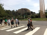 Last Continental Crosswalk on Figueroa.