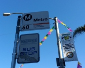 60 Bus, the main line between downtown Los Angeles, and downtown Huntington Park.