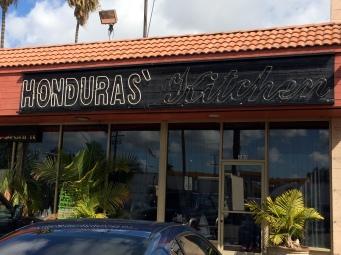Honduras restaurant.