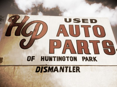HP Auto Parts. Wonder what the HP stands for?