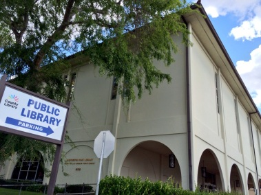 Huntington Park Library. An LA County Library branch, it opened in 1970 as San Antonio Regional Library.