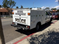 Animal control in Huntington Park is handled by the police.