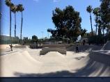 Huntington Park Skate Park.