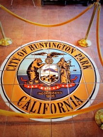 The Great Seal of Huntington Park.