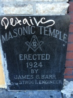 HP's and HLP's masonic temples were built the same year.