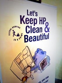 "The HP version of LA City Council District 1's ""Keep It Clean"" campaign, but effective."