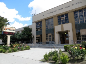 Huntington Park High School. Built 1934. (After the 1912 one was destroyed in the 1933 Earthquake.)