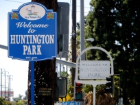 Huntington Park border.