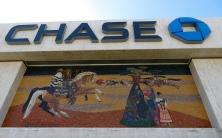 Rancho San Antonio Home Savings & Loan mosaic by Millard Sheets and Susan Hertel.